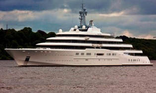 View large version of image: Largest superyacht in the world - 180m Lurssen yacht Project AZZAM