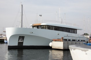 View large version of image: Wally Yachts launch the first WallyAce yacht KANGA