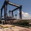 Canados Shipyard launch the new Canados 120 luxury yacht Far Away