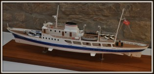 View large version of image: 52m historical yacht Ambriabella restored by Quaiat Yard to attend Monaco Yacht Show