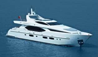 View large version of image: 2012 Hong Kong Gold Coast Boat Show attended by IAG 100 luxury yacht Electra