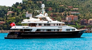 View large version of image: Mediterranean charter special for 49m Feadship charter yacht INEVITABLE