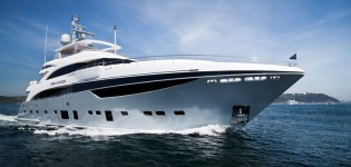 View large version of image: Princess Yachts delivers Princess 40M yacht Imperial Princess