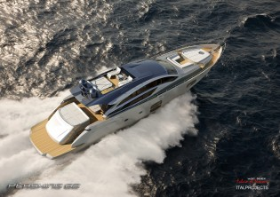 View large version of image: Pershing 82 yacht to debut at Cannes Boat Show 2012