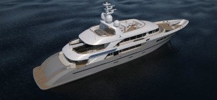 View large version of image: 49m Acico motor yacht NASSIMA launched