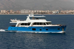 View large version of image: Vicem 107 yacht MONI to make her debut at 2012 Cannes Boat Show