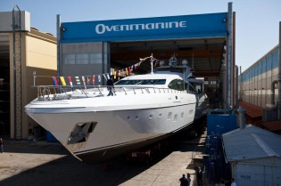 View large version of image: Overmarine's 7th Mangusta 165 yacht to make her debut at FLIBS 2012