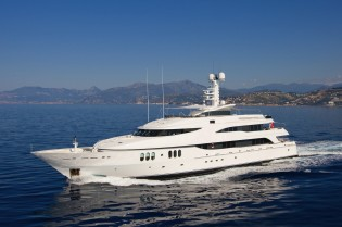 View large version of image: Superb charter special for the 57m luxury yacht DIAMOND A in the West Mediterranean