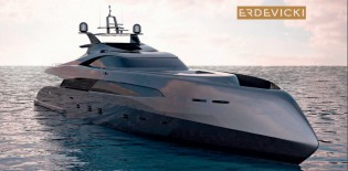View large version of image: Erdevicki and ICON Yacht 53m luxury yacht ER175 on display at upcoming Monaco Yacht Show