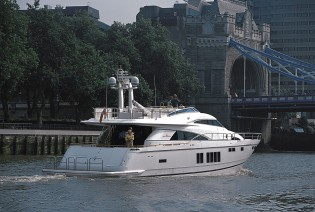 View large version of image: Squadron 78 Custom yacht by Fairline to be exhibited at Southampton Boat Show