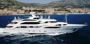 View large version of image: Excellent Western Mediterranean yacht charter special for the 56 m motor yacht GALAXY