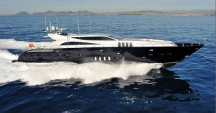 View large version of image: Leopard Yachts launch luxury yacht KOJI