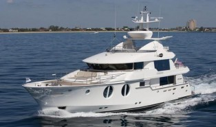 View large version of image: Horizon CC105 superyacht delivered to her new Owners