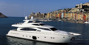 View large version of image: Lee Marine delivers the second Ferretti 881 RPH yacht