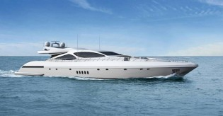 View large version of image: Luxury motor yacht Mangusta 110 by Overmarine Group