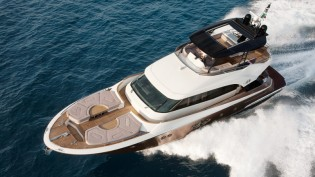 View large version of image: Monte Carlo Yacht 70 designed by Nuvolari Lenard