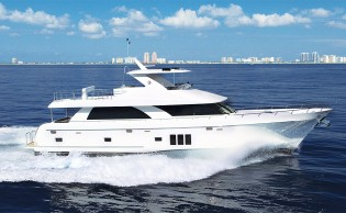 View large version of image: The sale of the new Ocean Alexander 78 yacht