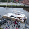 Christening ceremony and sea trials for Sunreef 82 DD yacht Houbara