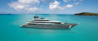 View large version of image: The new 100m superyacht concept by CBI Navi - Fipa Group