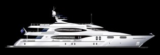 View large version of image: Trinity Yachts launch luxury yacht Lady Sura (T059)