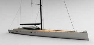View large version of image: OCD 130 superyacht by Owen Clarke Design to be unveiled at Monaco Yacht Show