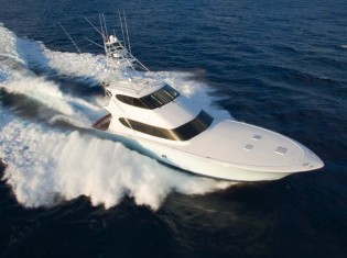 View large version of image: Hatteras 77 Convertible yacht to be equipped with Seakeeper M26000 gyros
