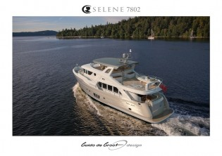 View large version of image: Guido de Groot designed luxury yacht Selene 78 Ocean Explorer