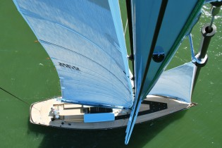 View large version of image: K&M Yachtbuilders delivers the Frers designed 88-foot sailing yacht TULIP