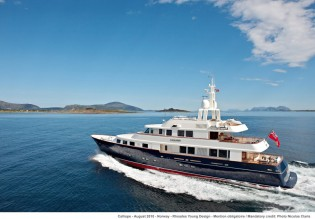 View large version of image: Spectacular New Year's Eve in New Zealand aboard luxury charter yacht Calliope