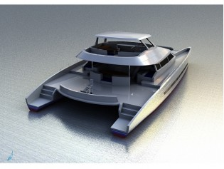 View large version of image: Open Ocean 750 yacht Quo Vadis launched by Du Toit Yacht Design