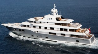 View large version of image: The impressive 62m superyacht BATON ROUGE by ICON Yachts to be showcased at the 2012 FLIBS