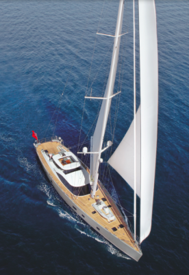 View large version of image: Oyster 100 sailing yacht PENELOPE launched