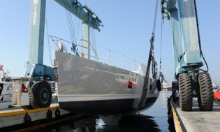 View large version of image: RMK Marine launches the second Oyster 100 yacht Penelope