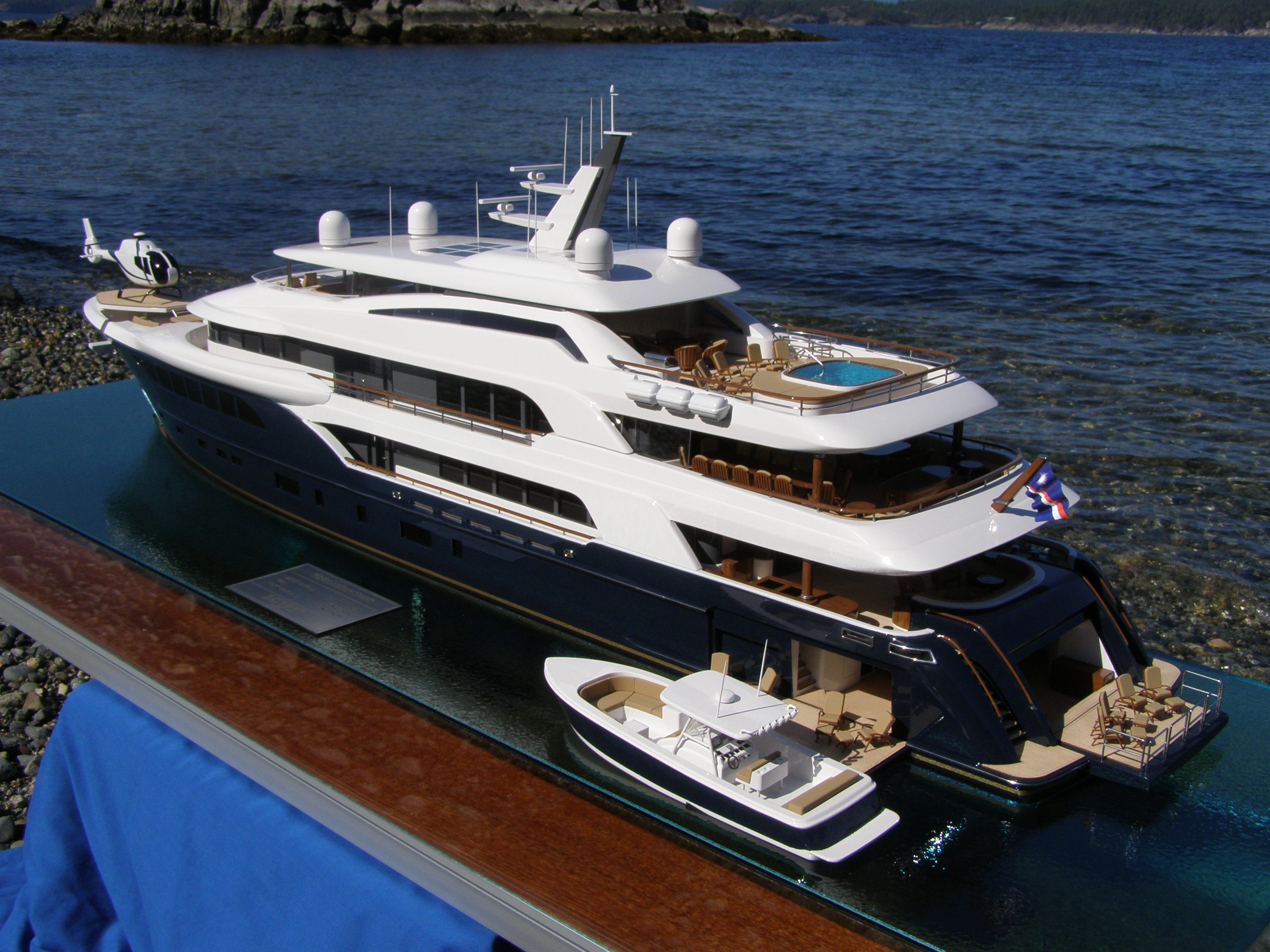 New 60m Custom Built Scale Model Superyachts News Luxury Yachts Charter Amp Yachts For Sale