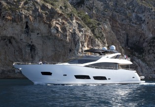 View large version of image: Sunseeker completes and delivers the newest 28M superyacht ZOZO