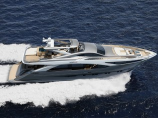 View large version of image: PerMare sells the first Amer 100' superyacht at this year's Genoa Boat Show