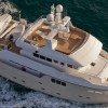 Debut of the Darwin Class 86' yacht PERCHERON by Cdm Yachts at the 2012 FLIBS
