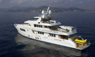 View large version of image: Moonen superyacht SOFIA achieves exceptional noise and vibration results