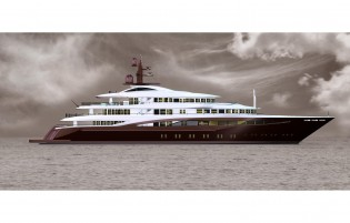 View large version of image: Latest 67m CBI 675 superyacht project with design by Giorgio Vafiadis