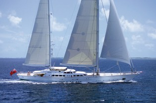 View large version of image: Perini Navi sailing yacht Felicita West available for charter in Northern Europe (Norway, Sweden, Denmark, St Petersburg and Stockholm)