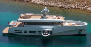 View large version of image: First WallyAce 26m yacht Kanga to be exhibited at the 2012 Antigua Charter Yacht Show
