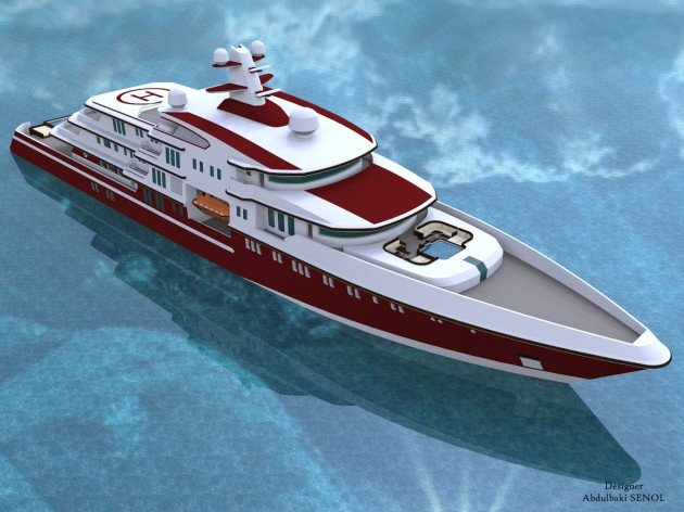 View large version of image: Super Yacht Design