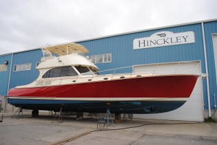 View large version of image: NEW LISTING: 2006/2011 55' Hinckley Talaria Flybridge