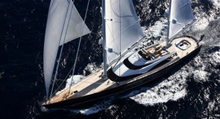 View large version of image: Far Eastern Cruise for the 57m Royal Huisman sailing yacht TWIZZLE