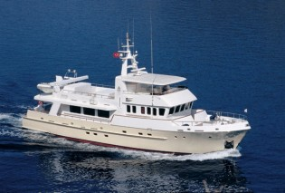 View large version of image: Doggersbank Expedition Yacht TIVOLI getting ready for South Pacific charters at Front Street Shipyard