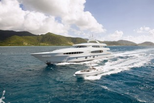 View large version of image: Sea trials successfully completed by Vulcan 46 yacht Caprice V by Vicem