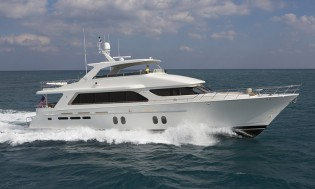 View large version of image: Final Commissioning Sea Trial for Bravo 88 Yacht by Cheoy Lee