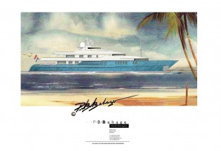 View large version of image: P.B. Behage presents his latest 62-metre PHILANDER yacht concept