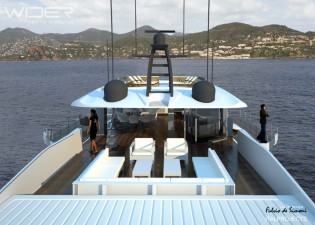 View large version of image: Wider Yachts starts production of Wider 150' superyacht