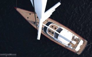 View large version of image: Baltic Yachts signs contract for the new Baltic 116 Custom Yacht